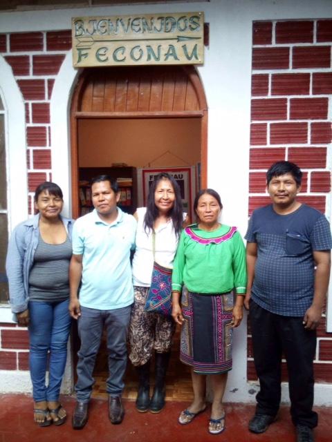 Eda meets with Shipibo leaders